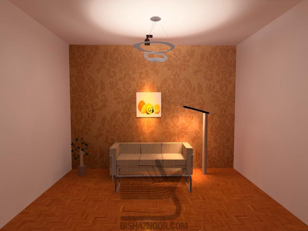 لایه های نورپردازی