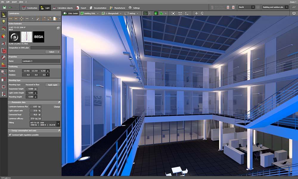 آموزش نورپردازی ساختمان