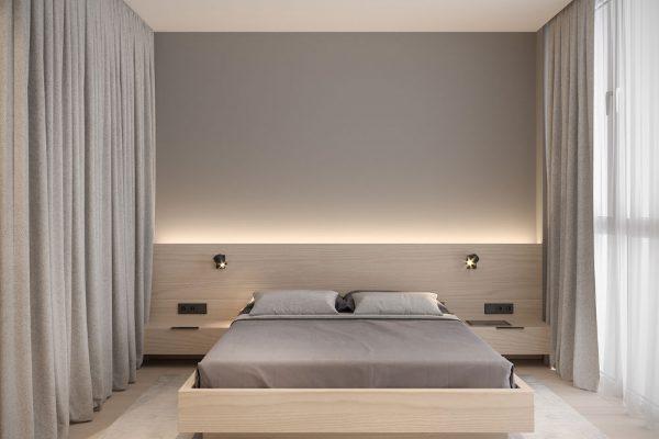 نور مخفی اتاق خواب